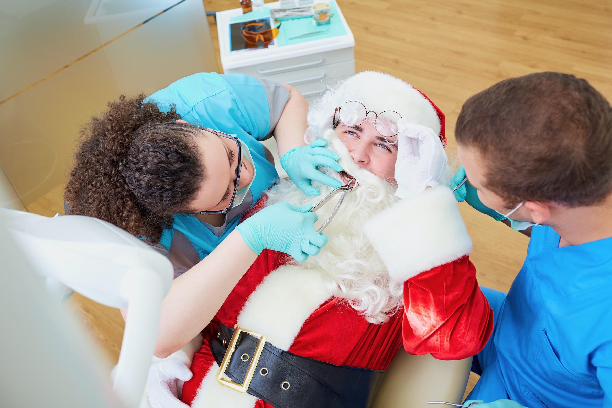 Emergency dental treatment over Christmas